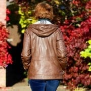 Heidi Brown leather ladies jacket