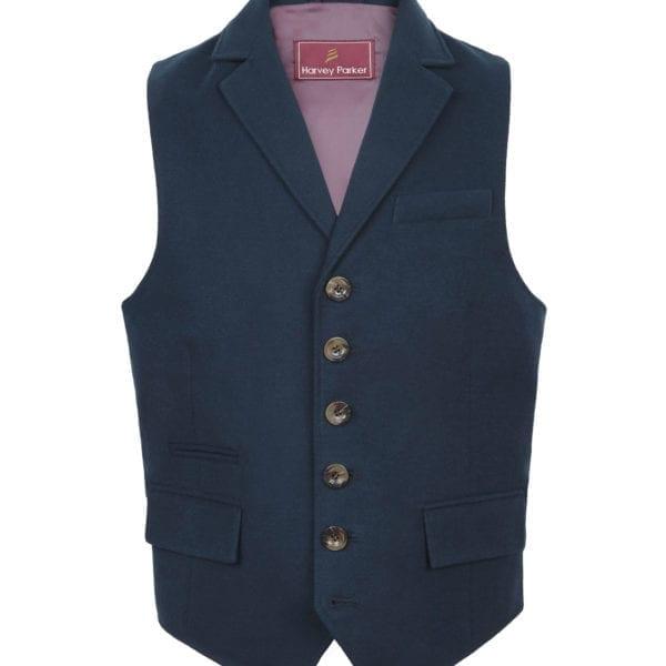 Gents Bracken Navy Wasitcoat
