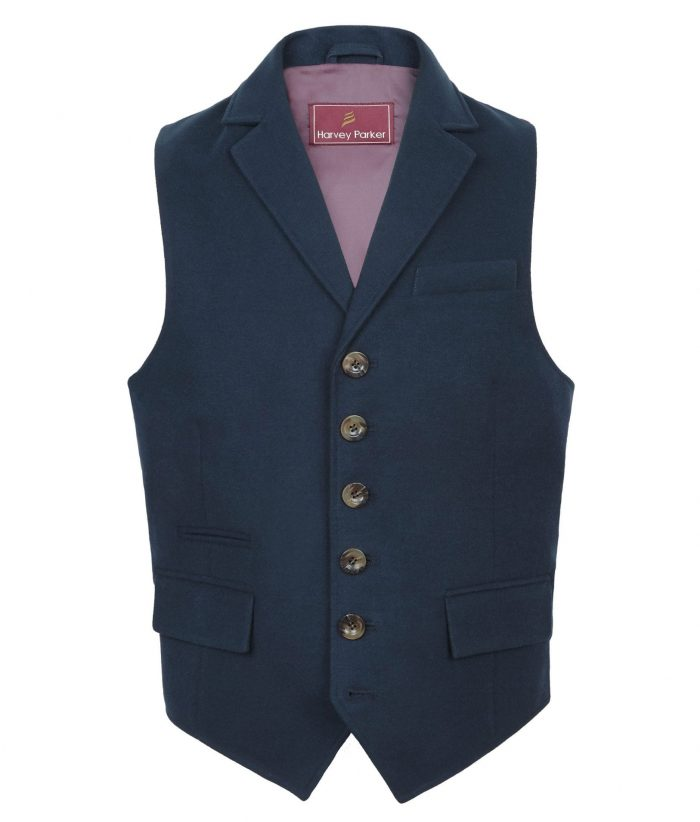 Gents Bracken Navy Wasitcoat