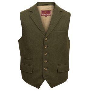 Borough: Men's Tweed Waistcoat by Hidepark