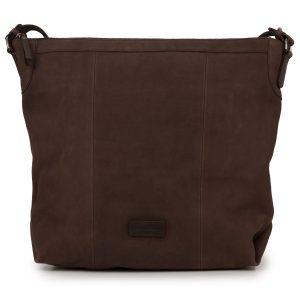 Felicity: Women's Brown Leather Handbag by Hidepark