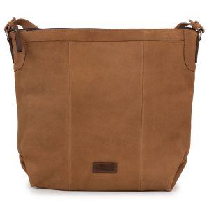 Felicity: Women's Cognac Leather Handbag by Hidepark
